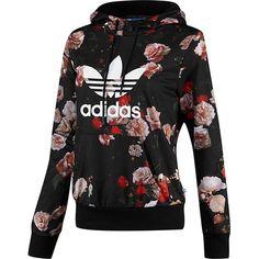 Women's Logo Hooded Sweatshirt ❤ liked on Polyvore featuring tops, hoodies, logo hoodie, logo hoodies, hoodie top, kangaroo pocket hoodie and french terry hoodies