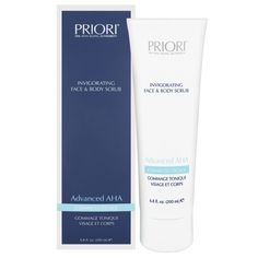Priori Advanced AHA Invigorating Face & Body Scrub | #beautybaywishlist Want to try this product