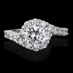 twist engagement ring - Google Search