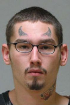edbaa1c186437 Mugshot face tattoo Worst Tattoos Horrible Tattoos Awful Bad Tattoos ...  See more. Pics Photos - Stupid Face Tattoos 3