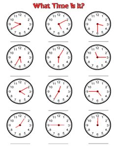 Looking for a Time Worksheets To The Minute. We have Time Worksheets To The Minute and the other about Benderos Printable Math it free. Maths Worksheets Ks2, Clock Worksheets, Free Printable Math Worksheets, Time Worksheets Grade 2, Teaching Time, Teaching Math, Teaching Clock, Teaching Resources, 1st Grade Math