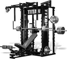 64 Super ideas home gym setup trx Basement Gym, Garage Gym, Trx, Gym Workouts, At Home Workouts, Home Gym Machine, Gym Setup, Multi Gym, Fitness Gear