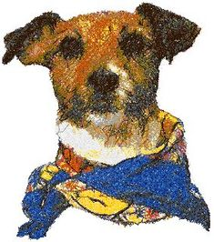 Advanced Embroidery Designs - Jack Russell Terrier