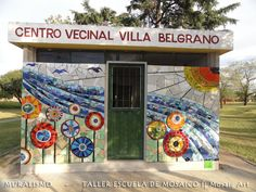 Recupero de Espacio Público - Muralismo en Mosaico Contemporáneo.