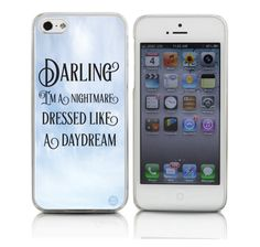 Taylor Swift Darling I'm a Nightmare Dressed Like a Daydream Phonecase by Cases by Kate  #taylorswift #taylor #1989
