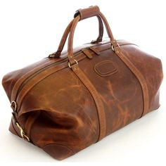 Korchmar Twain Leather Duffle