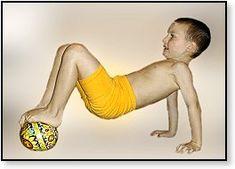 Körperspannung und Gleichgewicht