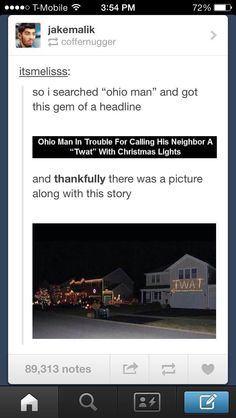 no guys i live in ohio and this was a serious problem you don't understand. It went on forever and the police had to get involved
