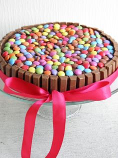 The Sweet Macaron ~ baked with love: Smarties Cake