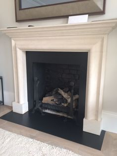Reception room - stunning gas fire dressed to look real - low maintenance, and always ready to go
