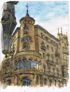 La Buresa, Casa Torrents (Manresa-Barcelona) 1906. Arq. Ignasi Oms i Ponsa. Flickr