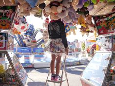 Tivoli series for Pere ja Kodu magazine. Photo by Katrina Tang, styling Anu Lensment. Arrenged by Kirsi Altjoe. #tivoli #amusementpark #kidsfashion #kidsphotography