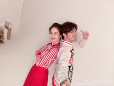 Song Ji Hyo and Chen Bolin. © on pic