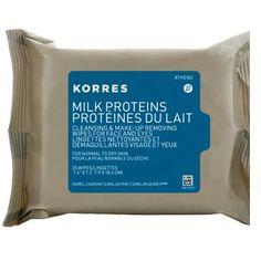 Korres Milk Protein Cleansing Wipes