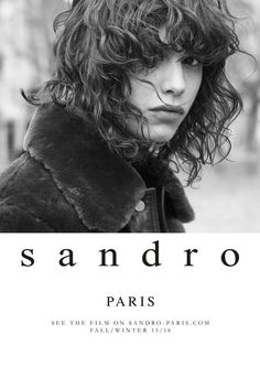 Sandro  Model: Mica Arganaraz  Fotograf: Karim Sadli
