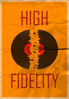"""High Fidelity"" movie poster"