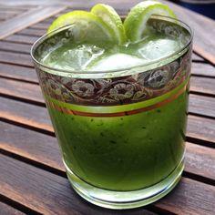 Agurkesommerdrink med lime og vodka