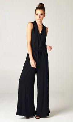 Madison Jumpsuit in Black//
