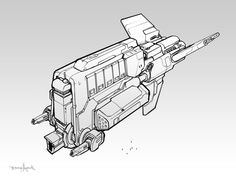 Hour 24 - Cantharan Destroyer by zombat on deviantART