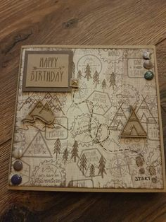 Handmade card using Craftwork Cards The Great Outdoors collection and stamps by Mary Gillingham