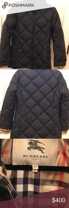 a945da86e1f11 Burberry Puffer Jacket Burberry Goose Down Puffer Jacket. Missing hood and  belt. Zipper replaced