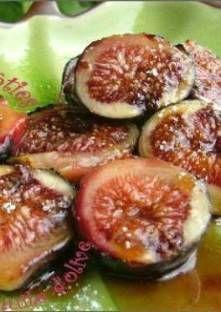 Figues rôties sur la Plancha, à l'huile d'olive & au miel @Notrefamille.com