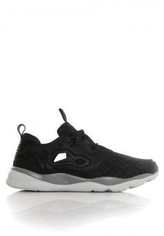 Reebok - Furylite TM Black/Shark//Steel - Schuhe - Offizieller Streetwear Online Shop - Impericon.com
