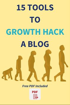 15 Powerful Tools To Growth Hack A Blog: Grow Your Blog Faster.  My most important blogging tips for beginners and bloggers who are struggling to grow their blog faster is to have these tools in their tool kit.  Blog growth is guaranteed when these tools are used properly  Click through to read the full post>>>  Free PDF included
