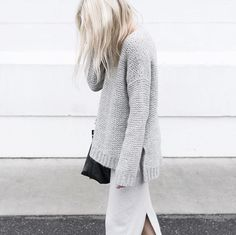 Axel oufit idea, pair with oversized sweater // MINIMAL + CLASSIC: FIGTNY