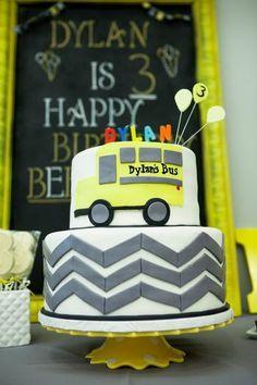Yellow School Bus Birthday Party | My Kiddies Parties ...