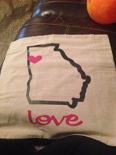 State pillow Georgia