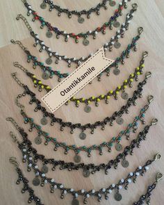 WhatsApp for order no- Sipariş için whatsApp no WhatsApp for order no - Seed Bead Necklace, Beaded Necklace, Beaded Bracelets, Handmade Beads, Handmade Jewelry, Hanging Beads, Ankle Chain, Mode Blog, Beaded Anklets