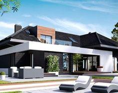 Aranżacje wnętrz - Domy: NV-PR-00399 - Novio.pl Projekty domów. Przeglądaj, dodawaj i zapisuj najlepsze zdjęcia, pomysły i inspiracje designerskie. W bazie mamy już prawie milion fotografii!