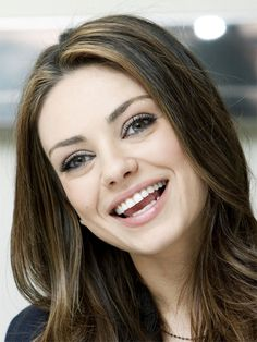 #smile with Mila Kunis!