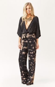 crystal kimono jumpsuit by BLUE LIFE #planetblue