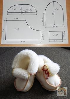 1 million+ Stunning Free Images to Use Anywhere Doll Shoe Patterns, Baby Shoes Pattern, Baby Moccasin Pattern, Baby Sewing Projects, Sewing For Kids, Sewing Slippers, Crochet Shoes, Baby Boots, Doll Shoes