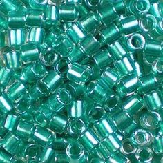 Delica Bead DB1752 Miyuki Delica Beads 110 Sparkling Orchid Lined Opal AB 7.6 grams  diy beads