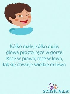 sensitiva.pl Finger Plays, Baby Development, Babysitting, Kids Education, Kids And Parenting, Cool Kids, Activities For Kids, Kindergarten, Preschool