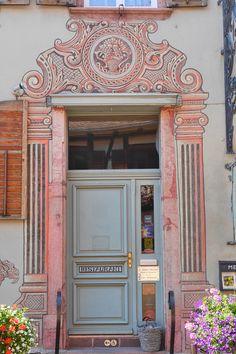 Ausflug ins Elsass: Bergheim: Restaurant, Weinstube: Wistub du Sommelier, Bergheim