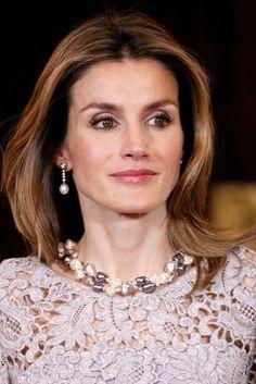 Princess Letizia - Spanish Royals Host Dinner in Honour of Peruvian President Ollanta Humala