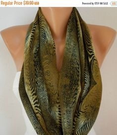Infinity Scarf  Fall Accessories Cowl Scarf Shawl Circle Scarf Loop Scarf  Gift Ideas For Her Women's Fashion Accessories Christmas Gift
