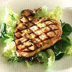 Marinated and Glazed Swordfish Recipe -- What we had last night