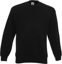 Gute Qualität  Bekleidung, Herren, Sweatshirts & Kapuzenpullover, Sweatshirts Fruit Of The Loom, Sweatshirts, Classic, Sweaters, Mens Tops, Black, Amazon, Products, Hoodie
