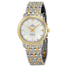 Omega-De-Ville-Prestige-White-Mother-of-Pearl-Dial-Ladies-Watch-42420276005001 #omega #womensstyle #womensfashion #womenswatch
