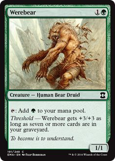 Werebear - Eternal Masters Spoiler