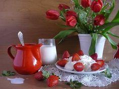 tulipan - strawberry