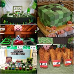 We Heart Parties: Blog 5 Best Minecraft Parties + Free Printables & Shopping List