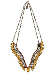 "JOANNA LAURA CONSTANTINE - ""AMERICANA"" COLLECTION NECKLACE - LUISAVIAROMA - LUXURY SHOPPING WORLDWIDE SHIPPING - FLORENCE"