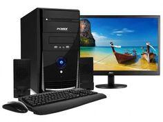 """Computador PC Mix L3300 Intel Dual Core - 4GB 500GB LED 18,5"""" Linux com as melhores condições você encontra no Magazine Docelarvidafeliz. Confira!"""