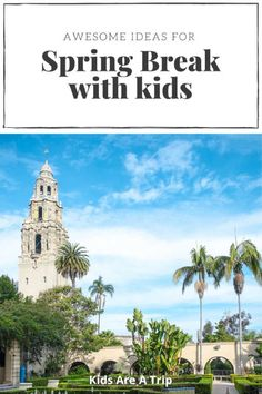 Looking for a new place to visit for spring break? There are many choices both in the US and overseas, but here are some of our favorite spring break ideas. Everyone will love these vacation spots. - Kids Are A Trip Spring Break Destinations, Spring Break Trips, Amazing Destinations, Travel Destinations, Toddler Travel, Travel With Kids, Baby Travel, Travel Couple, Family Travel
